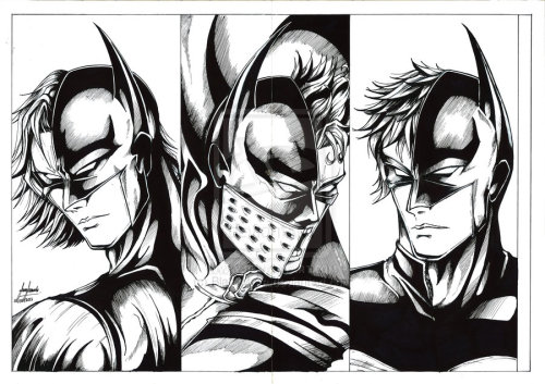 comiccool:  The Next Batmanby ~BlackMora  Battle of The Cowl