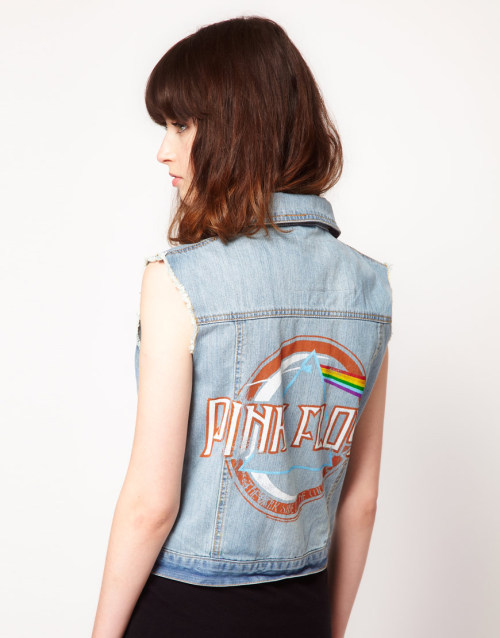 Amplified Pink Floyd Sleeveless Denim JacketMore photos & another fashion brands: bit.ly/JhE6D7