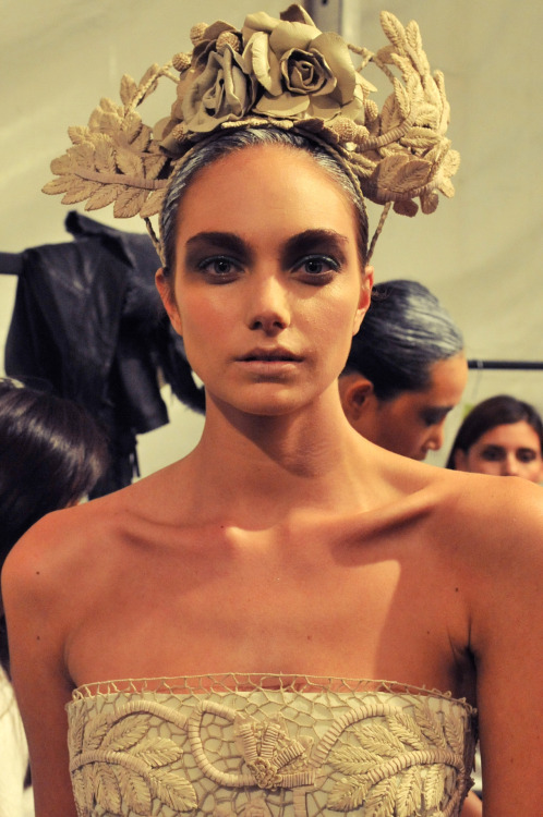 Aurelio Costarella Fashion Week Sydney 2012. Click here for backstage video.
