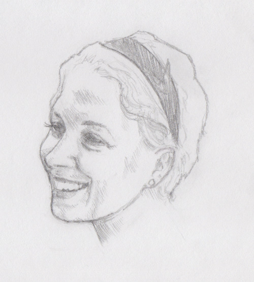A drawing of my favourite photo of Amanda =) Also another submission to: http://amandaabbingtonproject.tumblr.com GO AND SUBMIT THINGS GO GO GO
