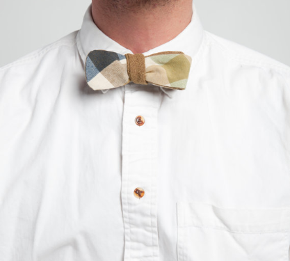 Reversible bow ties are our specialty.