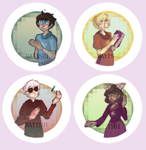 hatishi:  Homestuck? buttons? that i might be giving out at Otakon 0__0o!!  yeeeSSS