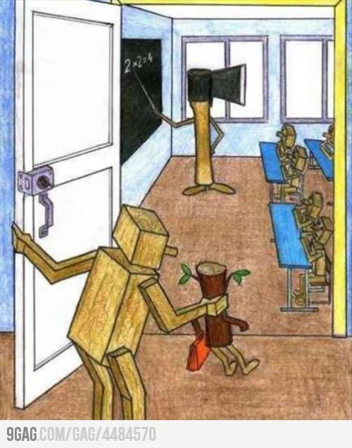 How school really looks like…