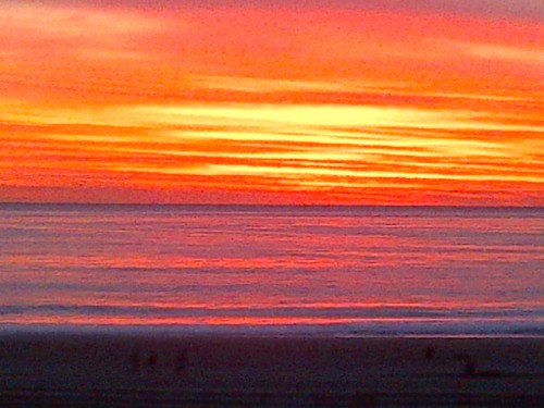Most amazing sunset I've ever seen. Playa Del Rey, California