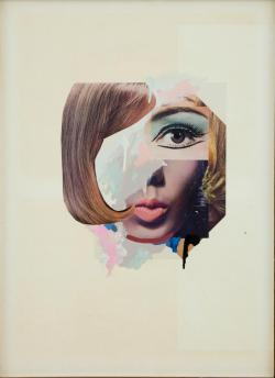 Study for a fashion plate By Richard Hamilton 1969