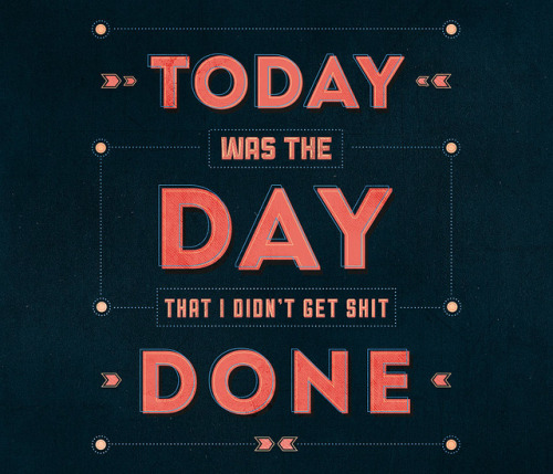 visualgraphic:  Today was the day   Lol!!