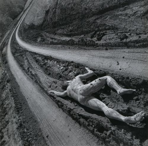 liquidnight:  Arthur Tress Road Kill San Luis Obispo, California, 1997 From Arthur Tress: Fantastic Voyage, Photographs 1956-2000