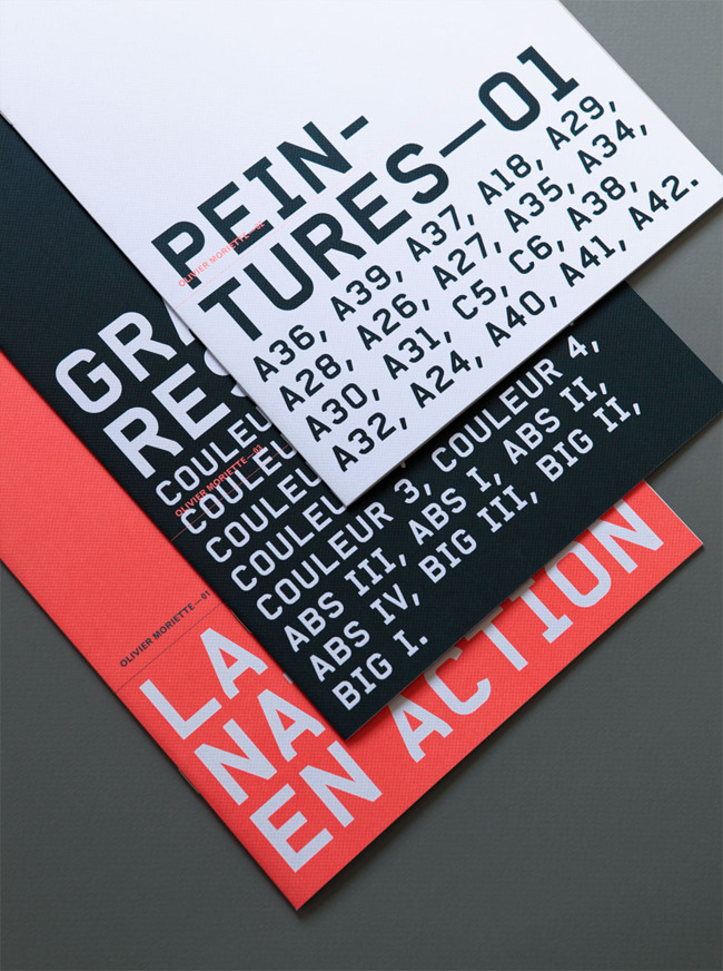 kentson:  Print design (typography by gr20paris.com)