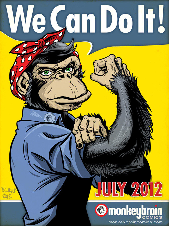 monkeybraincomics:  July 2012…