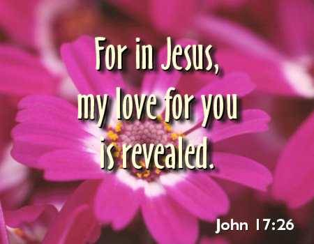 Jesus loves you! ♥