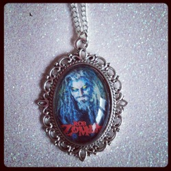 Rob Zombie Cameo Necklace £4.99 + p&p Message me if you would like something custom made!