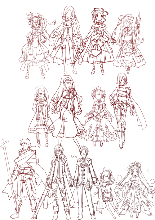 Some more.. I love to design girls ><
