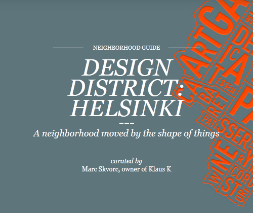 Neighborhood Guide to the World Design Capital 2012.