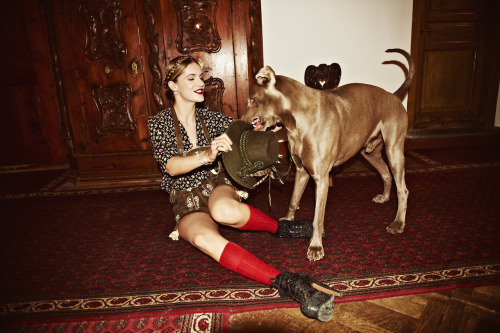 EUGENIE NIARCHOS FOR LIFESTYLEMIRROR. SANKT MORITZ. FEBRUARY 2012 READ THE STORY HERE Photo: Dylan Don