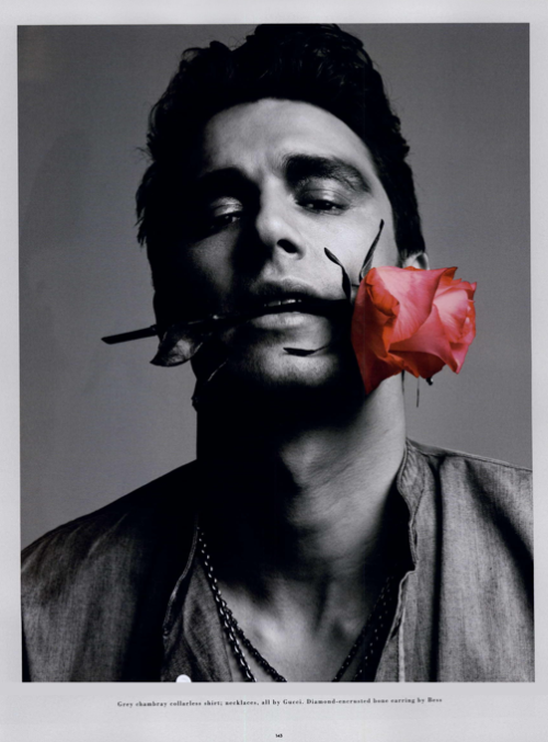 James Franco by Inez van Lamsweerde and Vinoodh Matadin for GQ Magazine.