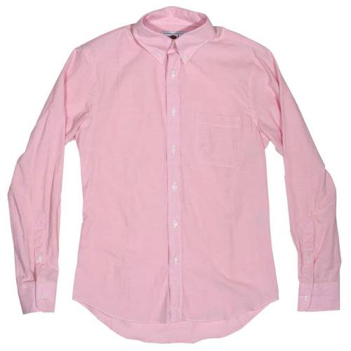 Epaulet pink chambray. Perfect for summer.