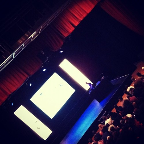Yes Peters @ampersandconf (Taken with Instagram at Corn Exchange)