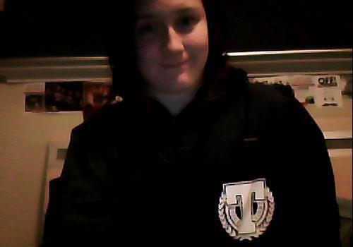 Well, look what arrived in the mail. My Terror windbreaker. :D