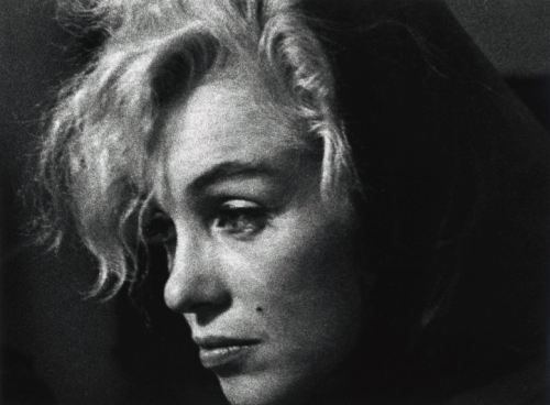 Marilyn Monroe in Hollywood, by Arnold Newman (1962)