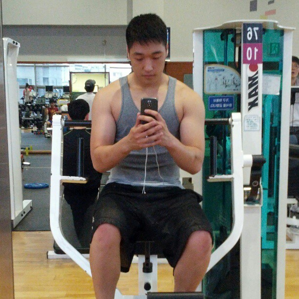 Week 2 report of my cutting phase @chaboiid @jimmmykim  (Taken with Instagram at 충무아트홀 스포츠센터)