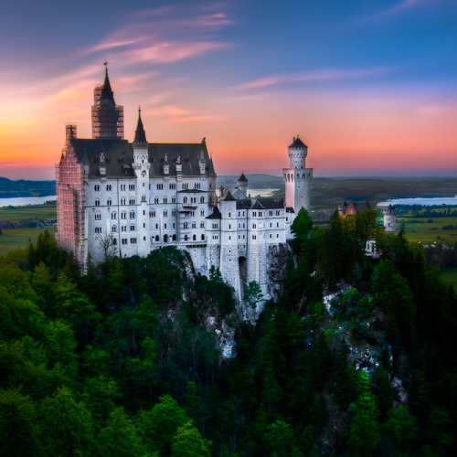 Bavaria, Castle Neuschwanstein by *alierturk