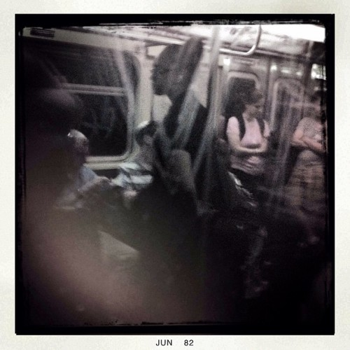 The A Train, NYC. (Taken with Instagram)