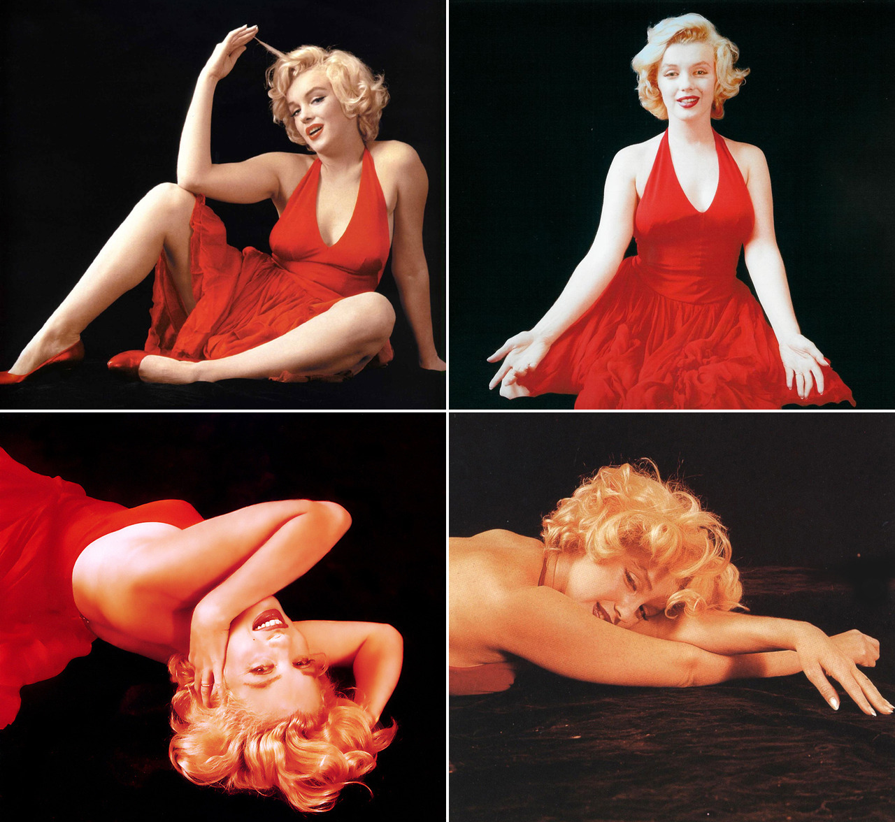 Marilyn Monroe by Milton Greene, 1957