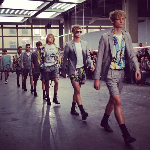 Remember Bermuda shorts? They're back with a tailored vengeance at @Topman Design (Taken with Instagram)
