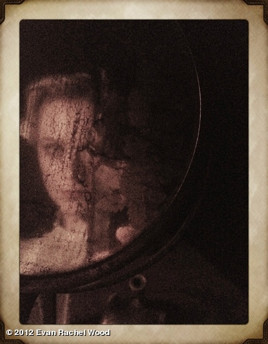 "Another ""waiting for my cue in a mirror"" shot. From #sleepnomore"