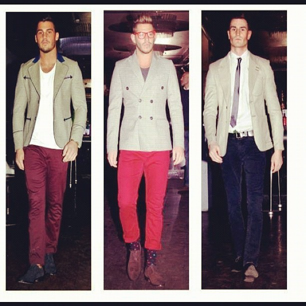 #feb #2012 #fashion #menswear #myedo #catwalk a #peak o the #lineup #menswear #styled and #run by #charliefi and #edo the #FEO #creative #director and #press #manager #me #blogger #charliefi  (Taken with Instagram)