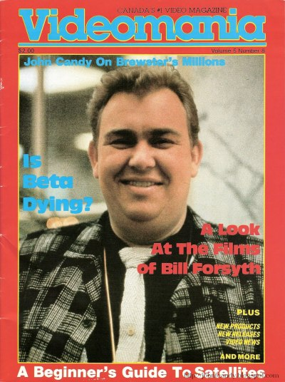 John Candy during the glory days of the VCR. Check out those clothes, and take note hipsters, that's how you dress post-ironically.