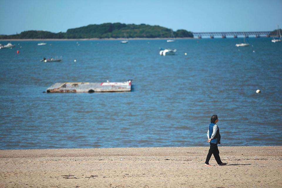 Bacteria counts close 10 Massachusetts beaches  Ten beaches, from Quincy stretching down the South Shore, were closed Thursday due to high bacteria counts, including a Duxbury beach shut down after posting its highest count in more than five years. (TAMIR KALIFA FOR THE BOSTON GLOBE)