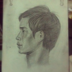 #pencil #paint #draw #art #artist #instagram #portrait  (Taken with Instagram)