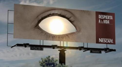 Come Back to Life, Nescafe Billboard, Mexico Tribute to the Sun