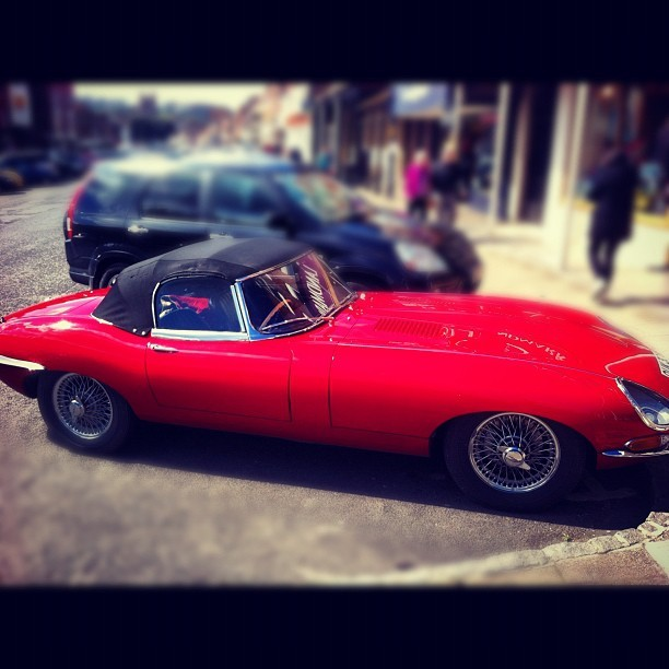 Jaguar E - Type (Taken with Instagram)