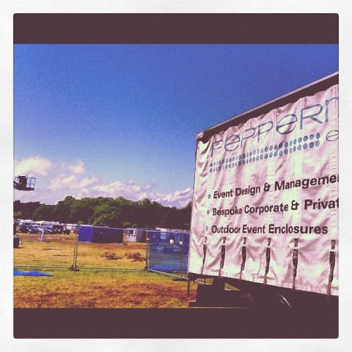 Sunshine @gladeofficial #festival #gladefestival (Taken with Instagram)