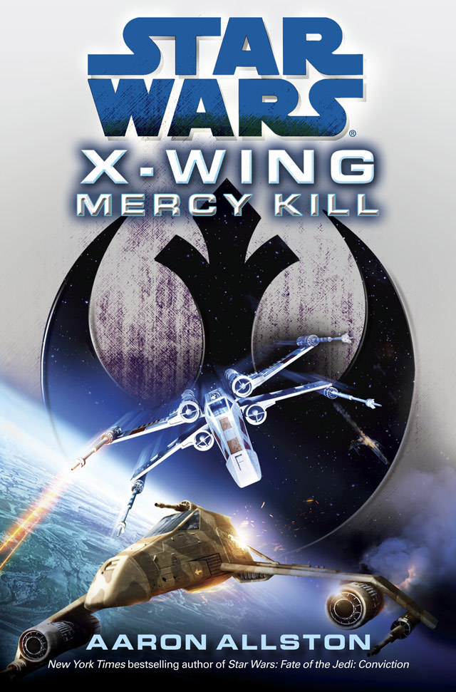 Del Rey has posted two mini-excerpts from Aaron Allston's X-Wing: Mercy Kill, the August 7th hardcover that will be the first new X-Wing novel since the 90's. (It's set post-FOTJ.) Excerpt #0 | Excerpt #1 | Tosche Station Radio interview with Allston