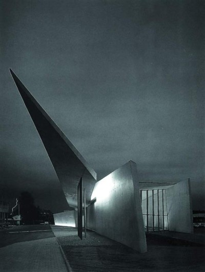 Vitra Fire Station - Weil am Rhine, Germany Zaha Hadid