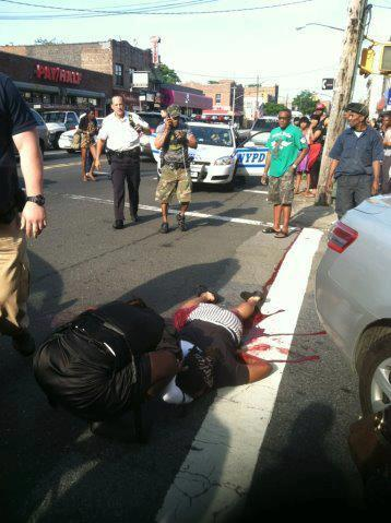 The NYPD killed this woman in broad daylight yesterday evening in Flatbush. Brooklyn ISO is mobilizing a contingent for Sunday's mass march against racist violence and Stop-and-Frisk: meet at Church Ave. and Flatbush at 12 pm—up the avenue from this police murder. Enough of this madness! Update on police killing in Brooklyn: according to a friend who spent the day in the neighborhood talking to witnesses, it was outright murder. The cops even snagged all the security tapes to hide evidence. Flatbush is seething and an emergency protest is called for noon Saturday at Church and 38th, scene of the execution.
