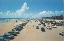 Good morning Daytona Beach, it's 1955.