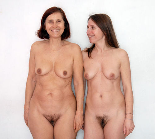 mother and daughter naked