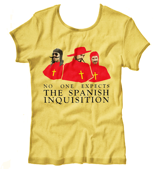 The Spain Shirt.El laughter diabólical!