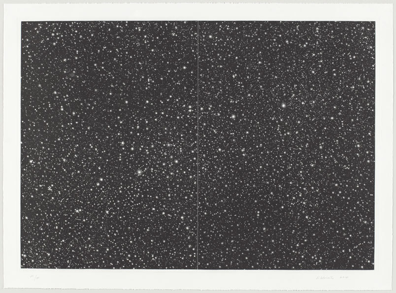 Vija Celmins. Starfield. 2010