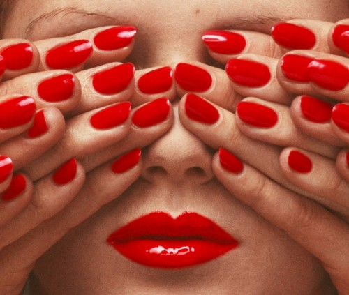 guy bourdin x pearlised white nails nails did.