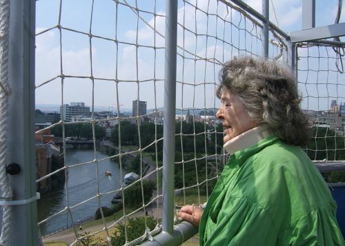 Cathy Butler took Diana on a hot-air balloon ride over Bristol as a birthday present in 2005. You can see the full set of photos here.