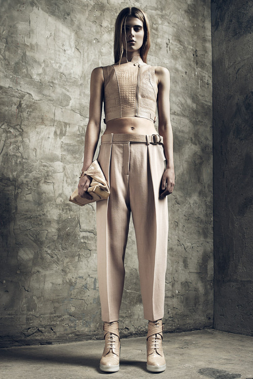 vogue:  Alexander Wang Resort 2013 Photo: Courtesy of Alexander Wang  Go to Vogue.com for the full collection and review.