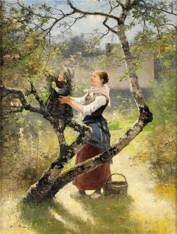 poboh:  Malic Picking, Johan Severin Nilson. Swedish (1846 - 1918)