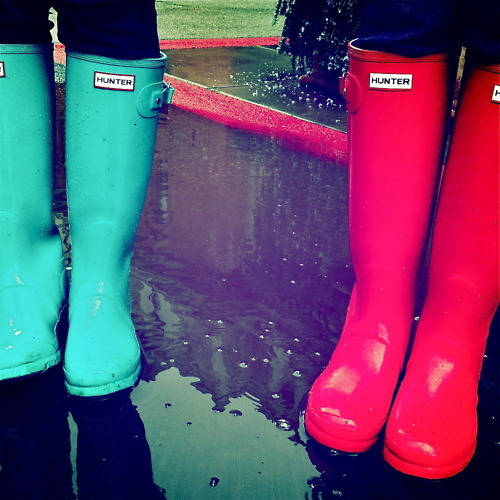I love rainboots