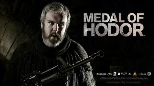 crisdias:  Hodor! (via Now I Really Want To Play Medal of Hodor)