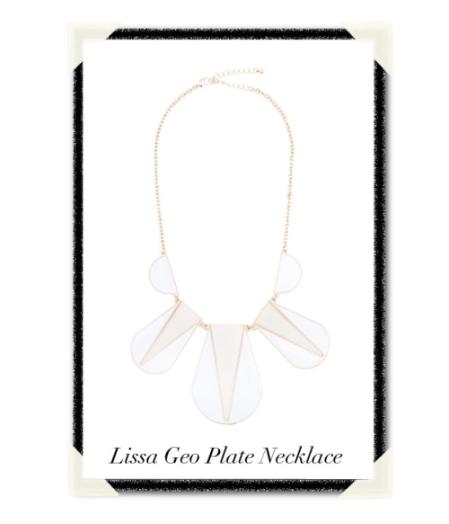 "We're embracing the light side of jewelry & giving away the Lissa Necklace. ""Like"" Lissa on our facebook to win!   How would you wear Lissa?"